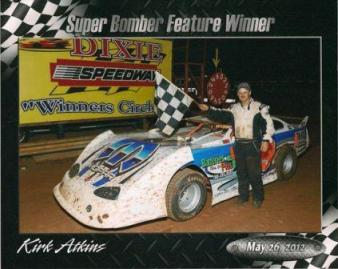 Kirk wins at Dixie!